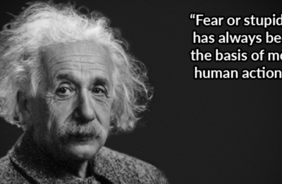 Safety culture quotes from Albert Einstein