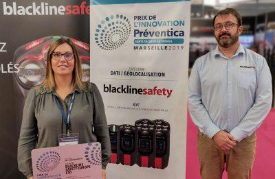 Blackline Safety wins the Préventica Prize for Innovation