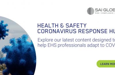 SAI Global creates Coronavirus Response Hub to offer support to the EHS community