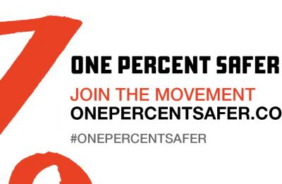 one percent safer