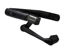 Head mounted tablet